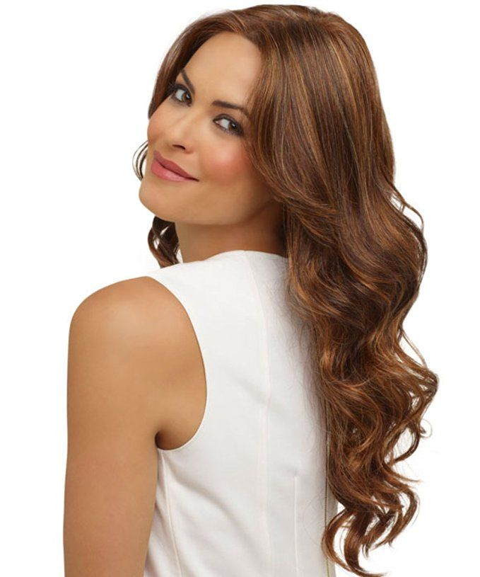 Amazon.com: Yulan Womenu0027s Fashion Wine Long Straight Glamour Hair  High Qualityu2026