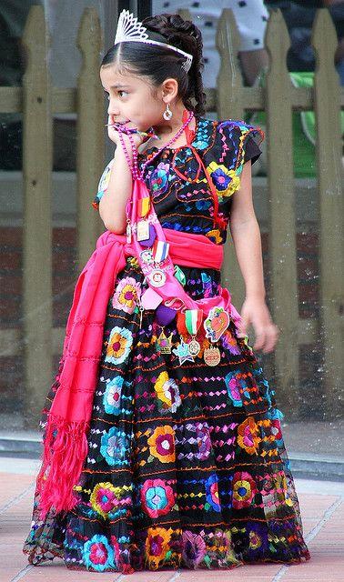 Fiesta Princess Vestidos Mexicanos Para Niña Vestidos