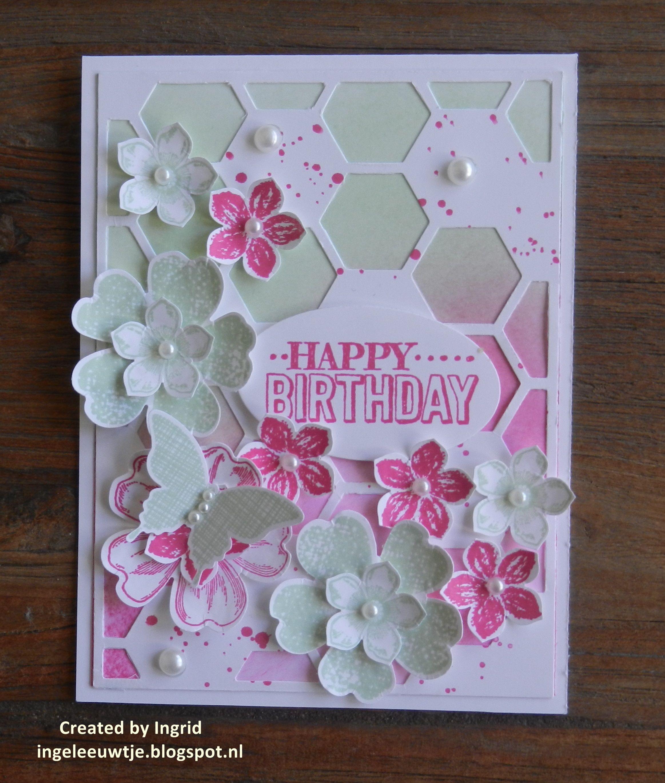 Stampinuup katina pinterest happy birthday cards happy