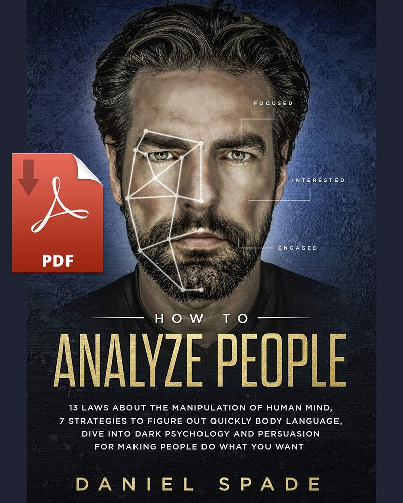 How to analyze people13 laws about the manipulation of