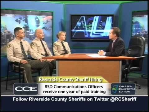 Riverside County Sheriff's Department is hiring. Watch this video for more information.