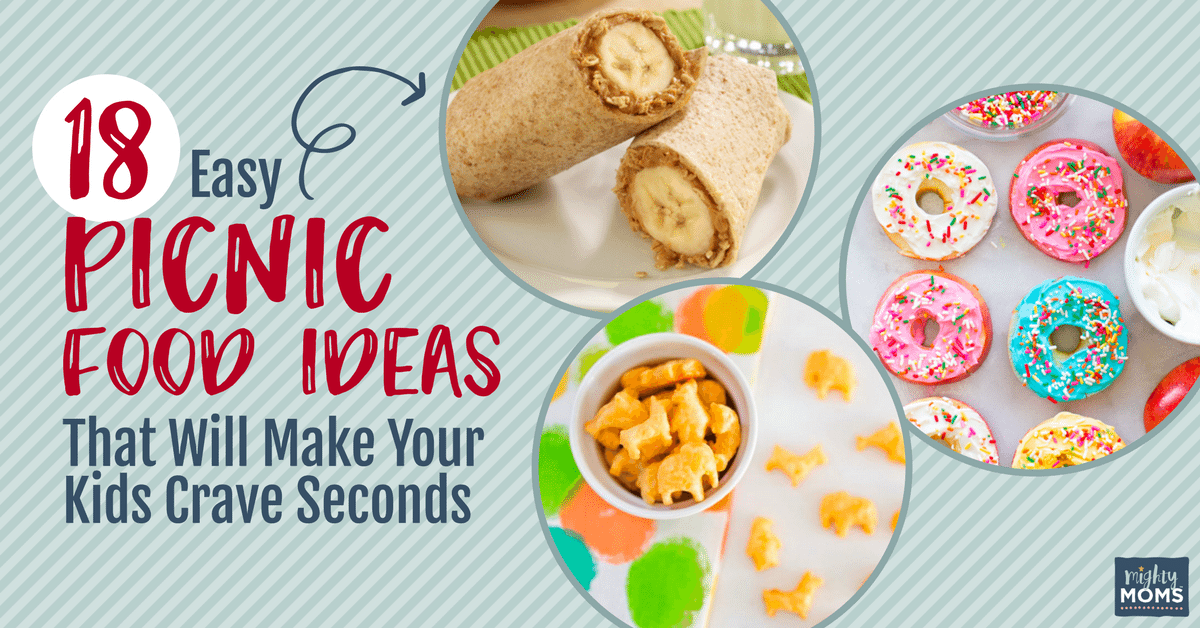 18 Easy Picnic Food Ideas That Will Make Your Kids Crave Seconds #familypicnicfoods