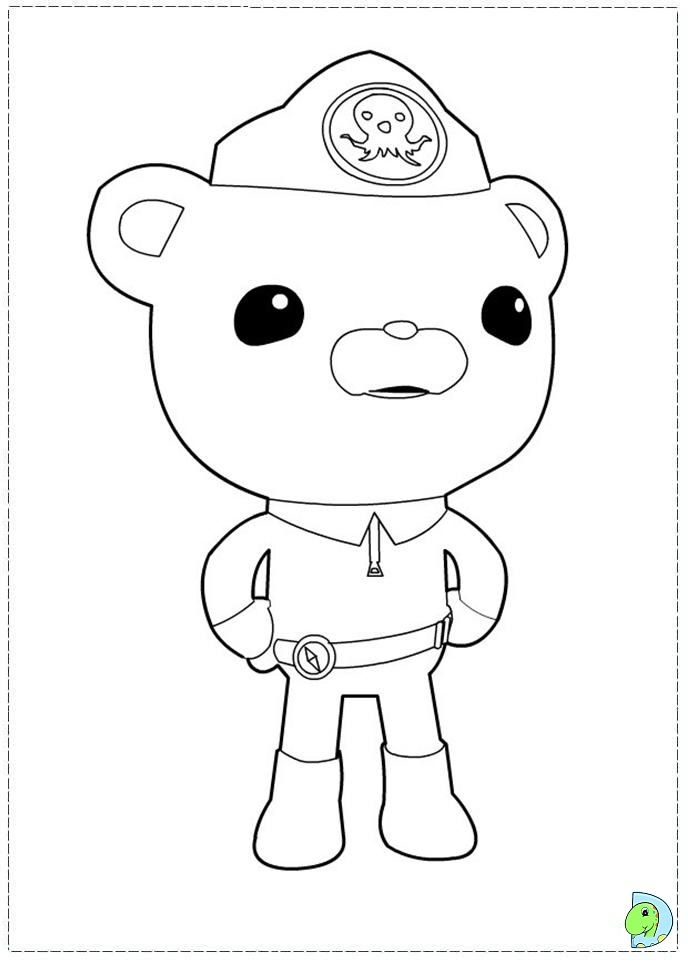 Coloring Pics Of Octonauts Google Search Super Coloring Pages