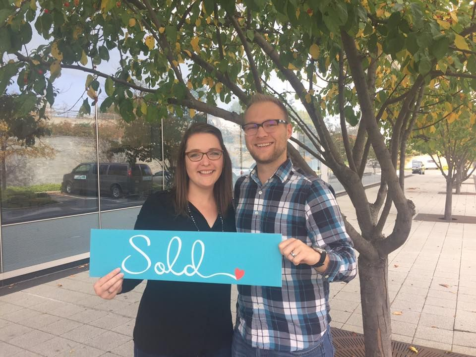 Happy closing day to the Knights! We love you guys and we can't wait to see what your wonderful new home has in store for you! Courtesy of www.BethMcGeorge.com #handshakesandhugs #BethSellsJC #JenSellsJC
