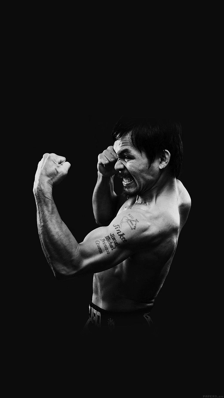 MANNY PACQUIAO DARK BOXING LEGEND WALLPAPER HD IPHONE