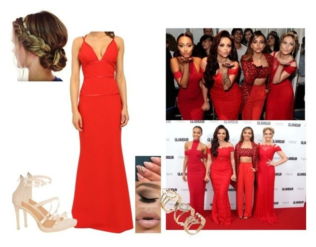 """""""Little Mix- Glamour Awards 2015."""" by bossjamie21 ❤ liked on Polyvore featuring Jill by Jill Stuart"""