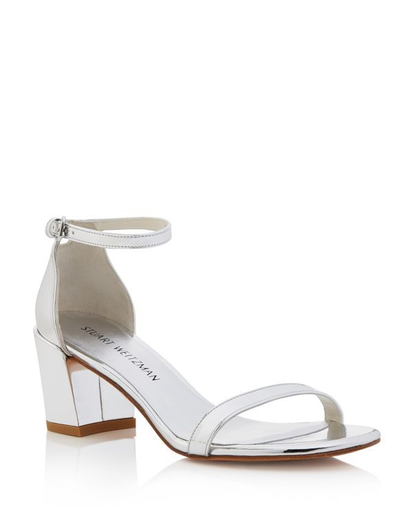 Simple sandals - Metallic Stuart Weitzman Q3p6p
