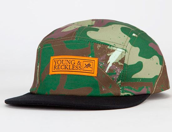 brand new 5c2b9 98c30 Blade Camo 5 Panel Cap by Young   Reckless Baseball Cap, Camouflage, Blade,