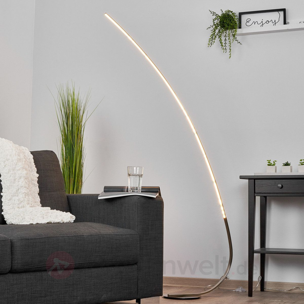 Minimalistische Led Stehlampe Madeleine Sicher Bequem Online