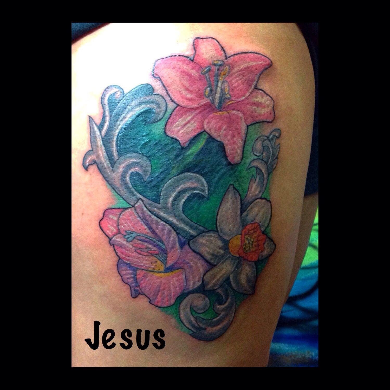 Crazy cactus tattoo scottsdale az jesus flowers