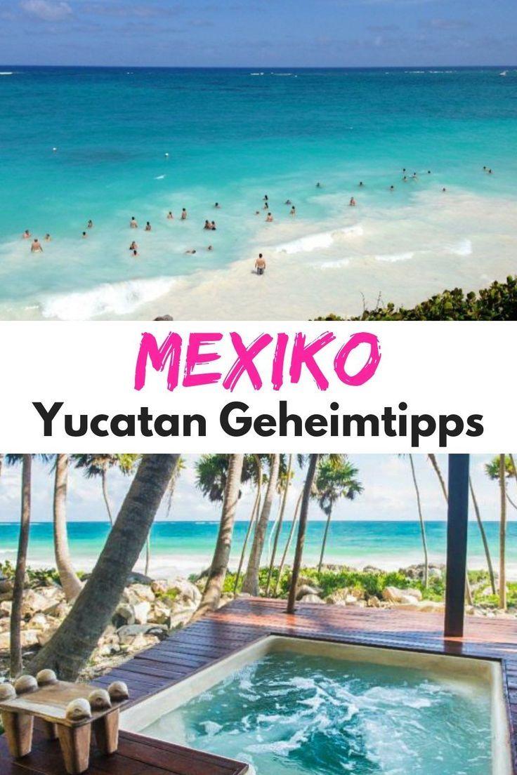 Die besten Geheimtipps für deinen Mexiko Urlaub in Yucatan: Eine Einheimische verrät dir ihre ultimativen Insidertipps zu Sehenswürdigkeiten, Stränden, Aktivitäten, Hotels und Restaurants. Yucatan Reise Tipps für deinen perfekten Urlaub oder Rundreise. #Mexiko