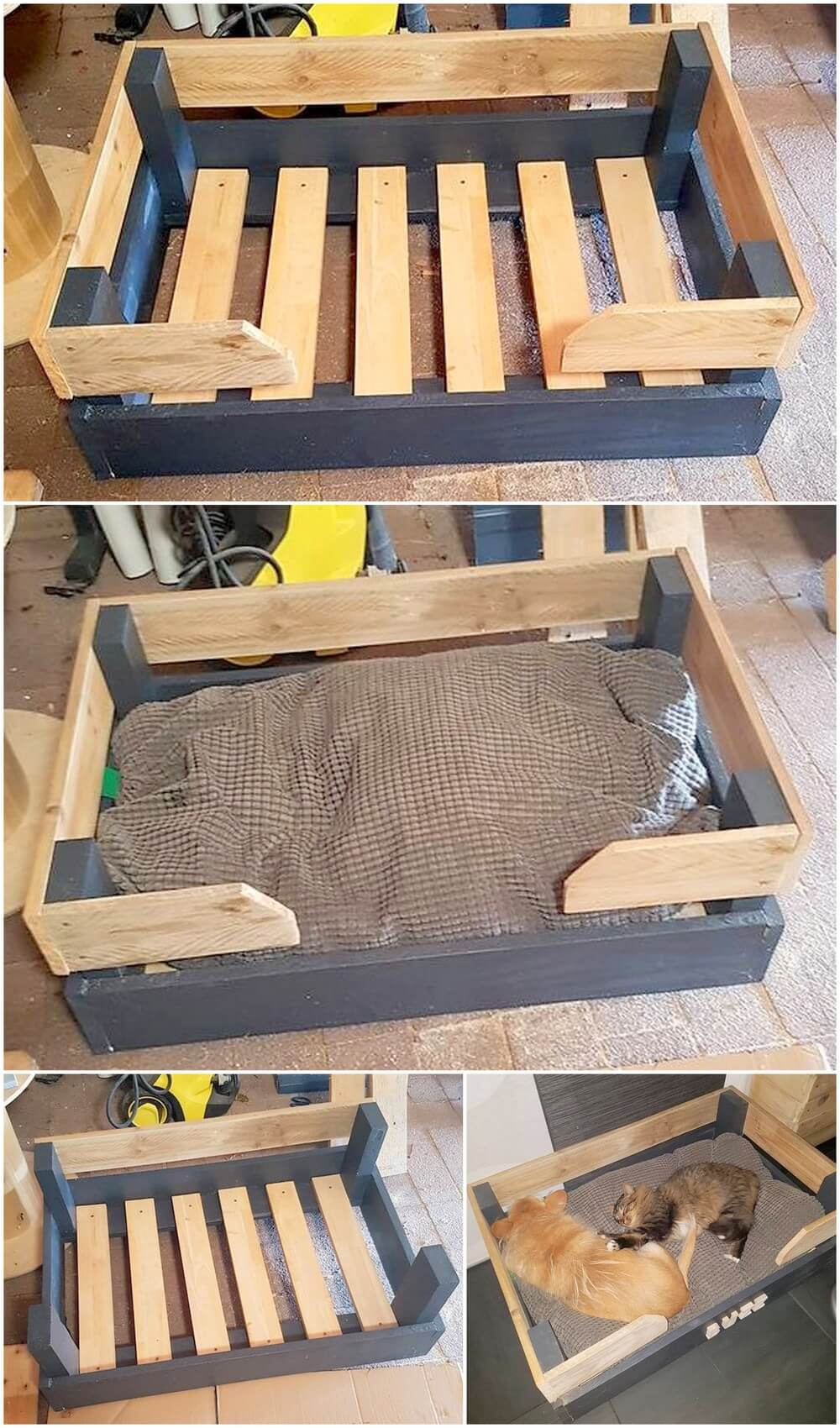 Adorable Diy Ideas For Shipping Pallets Reusing Easy Pallet
