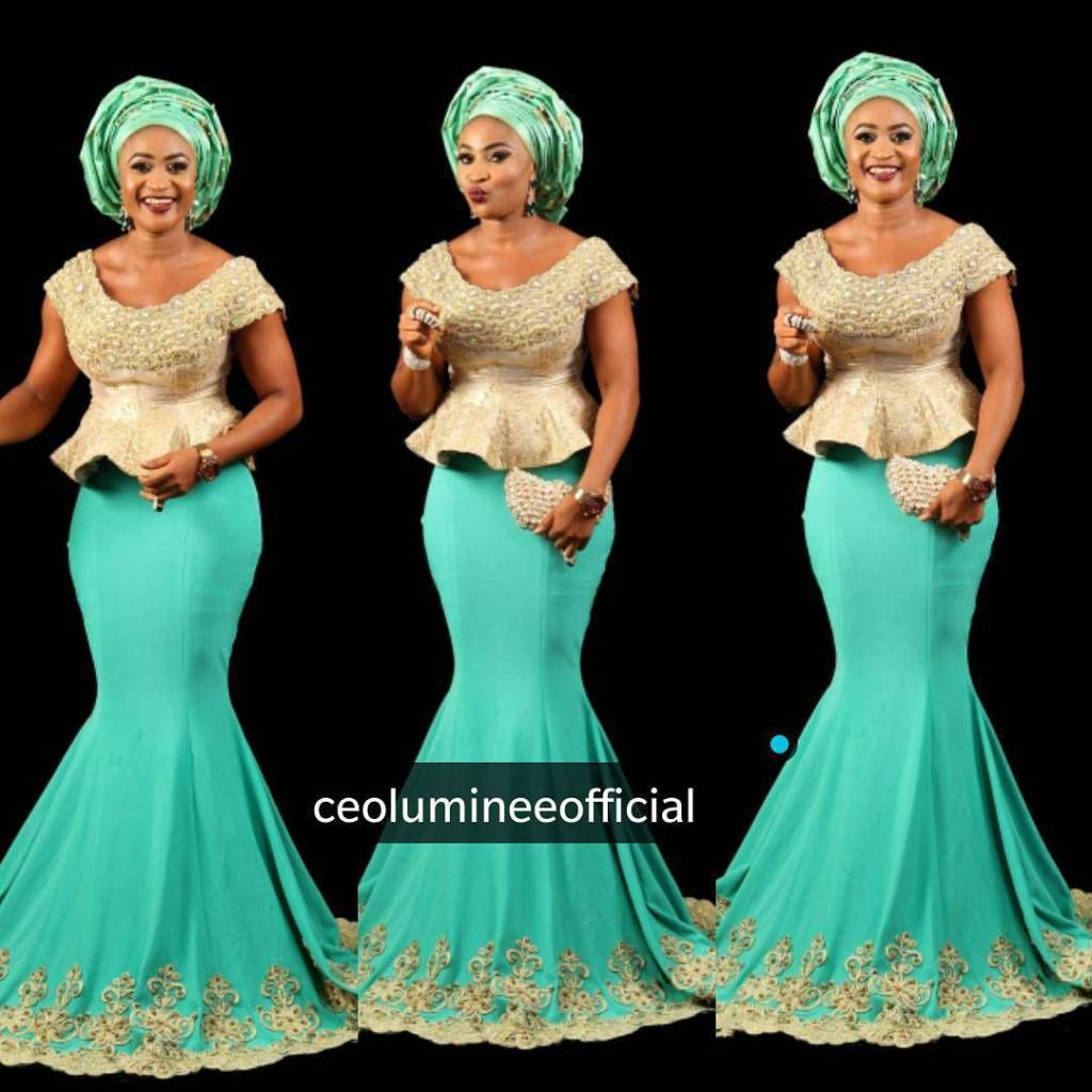 Step up your game with these eyepopping and uberclassy asoebi