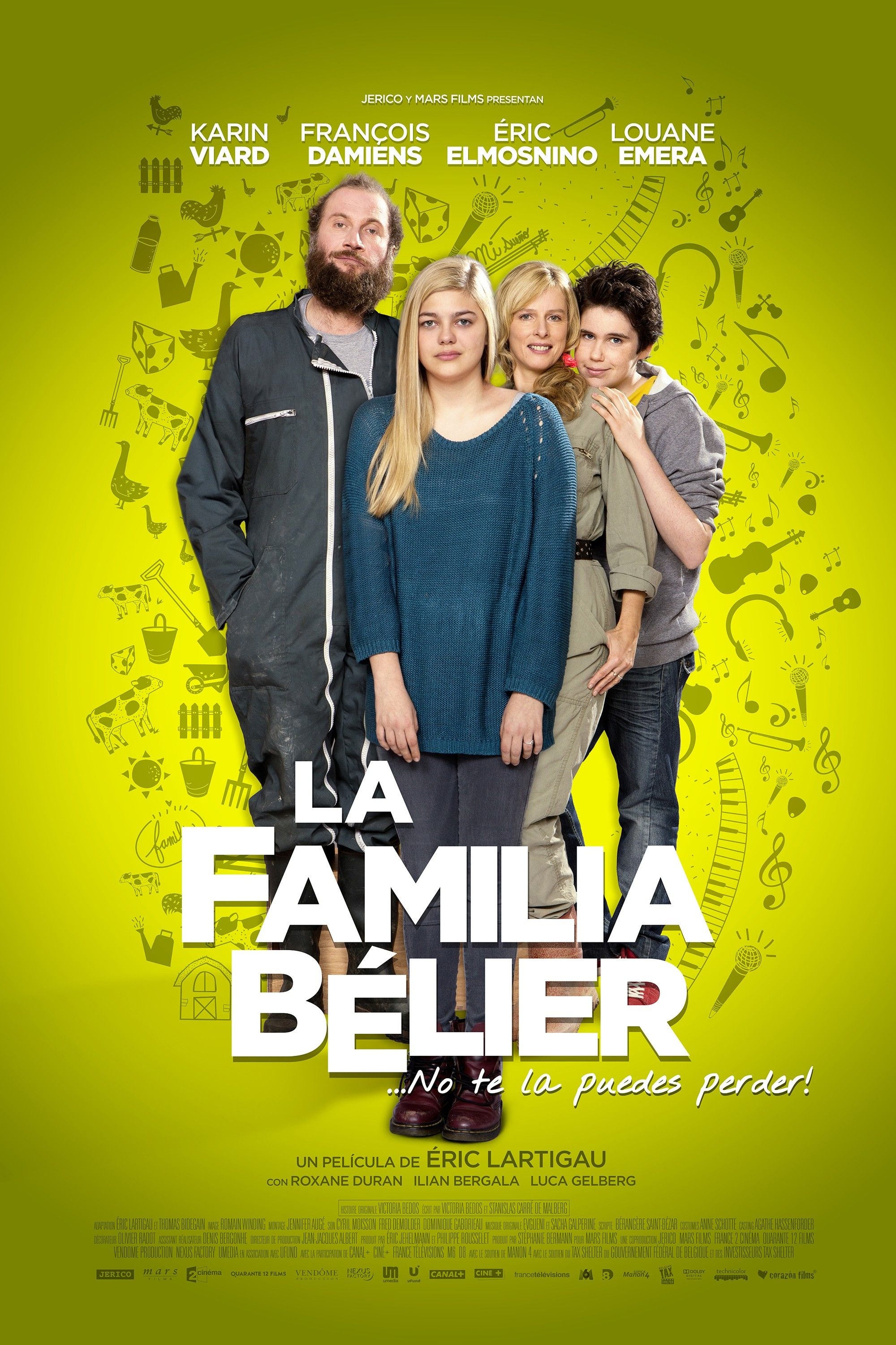 La famille Bélier: Mega Sized Movie Poster Image - Internet Movie