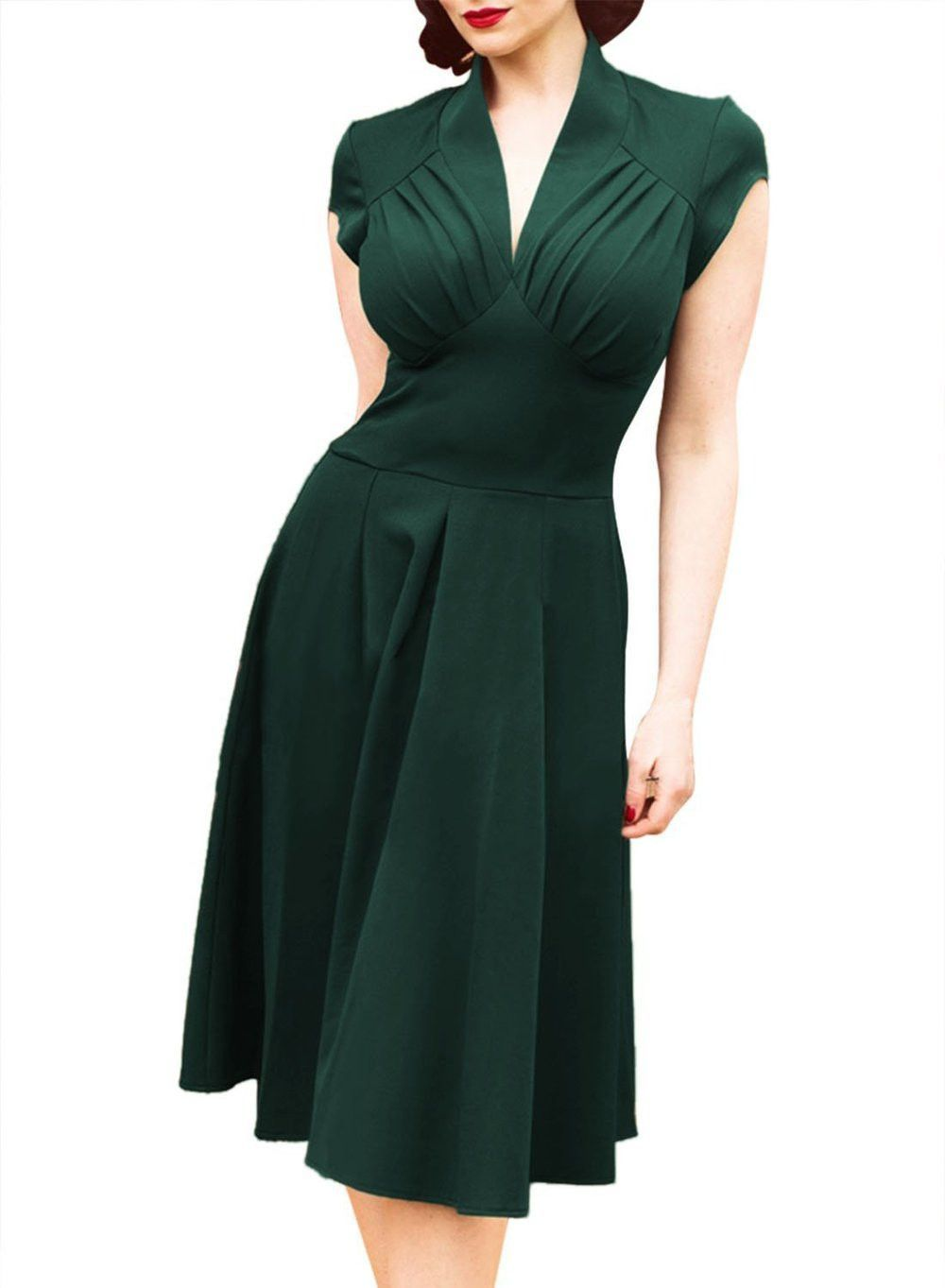 Dress s style colors s vintage rockabilly s clothing retro