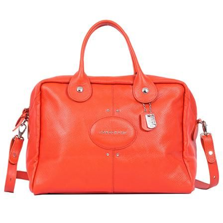 Longchamp - Sac Quadri, orange