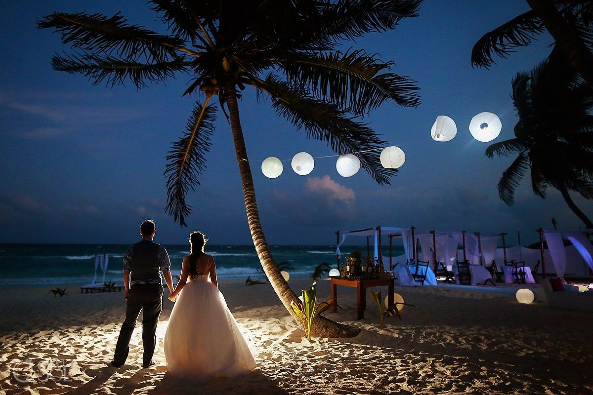 Wedding Akiin Beach Club Tulum A Terrific Venue For Unique Destination In Mexico Cozy And Comfortable Vibe Great Alternative To Large All