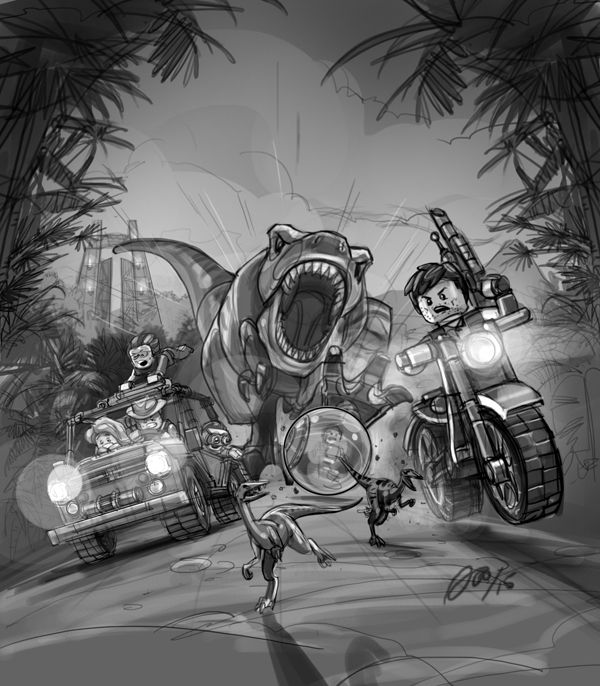 Lego jurassic world videogame key art and promo images on behance lego jurassic world videogame key art and promo images on behance gumiabroncs Image collections