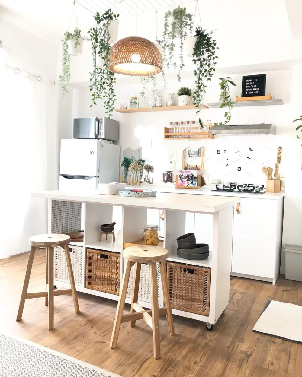 12 Tiny Kitchens with Seriously Big DIY Organization Ideas