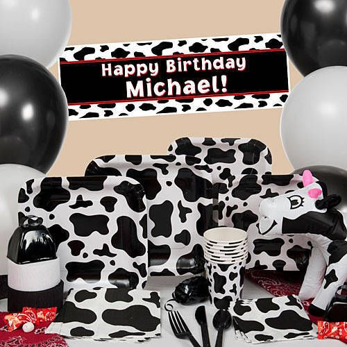 Our Cow Print Party Supplies will have your guests mooing with joy. & Our Cow Print Party Supplies will have your guests mooing with joy ...