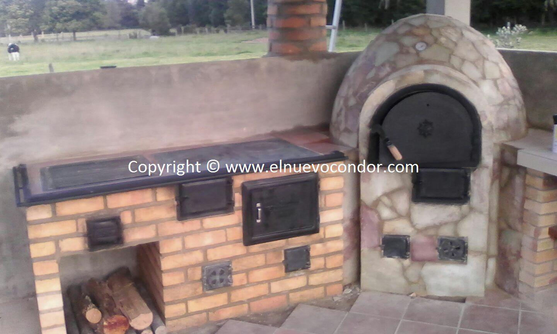 El condor estufas de le a y carb n fundici n de hierro for Cocinas de fundicion a lena