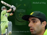 Misbah ul haq background wallpaper