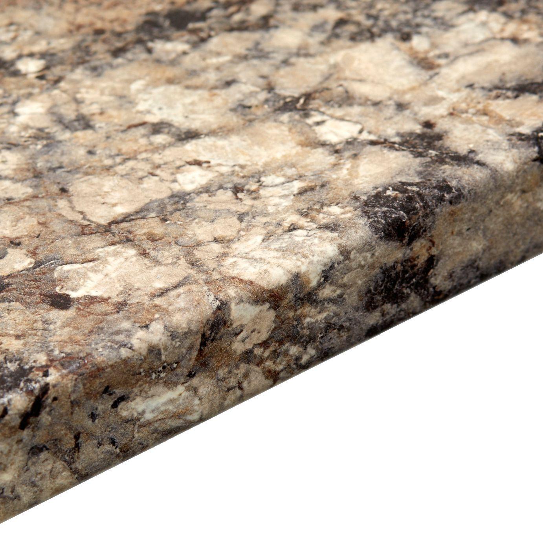 Q Bar And Kitchen: 38mm B&Q Carnival Granite Post Formed 3mm Kitchen Worktop