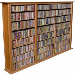 Venture Horizon VHZ Entertainment Regular Triple Multimedia Storage Rack