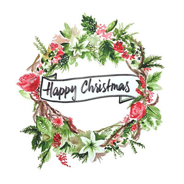 Happy Christmas! Holly Pinterest Navidad, Tarjetas and Dulces
