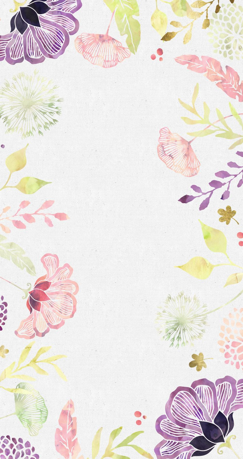 Free Floral Desktop Wallpaper I Choose Happiness Floral