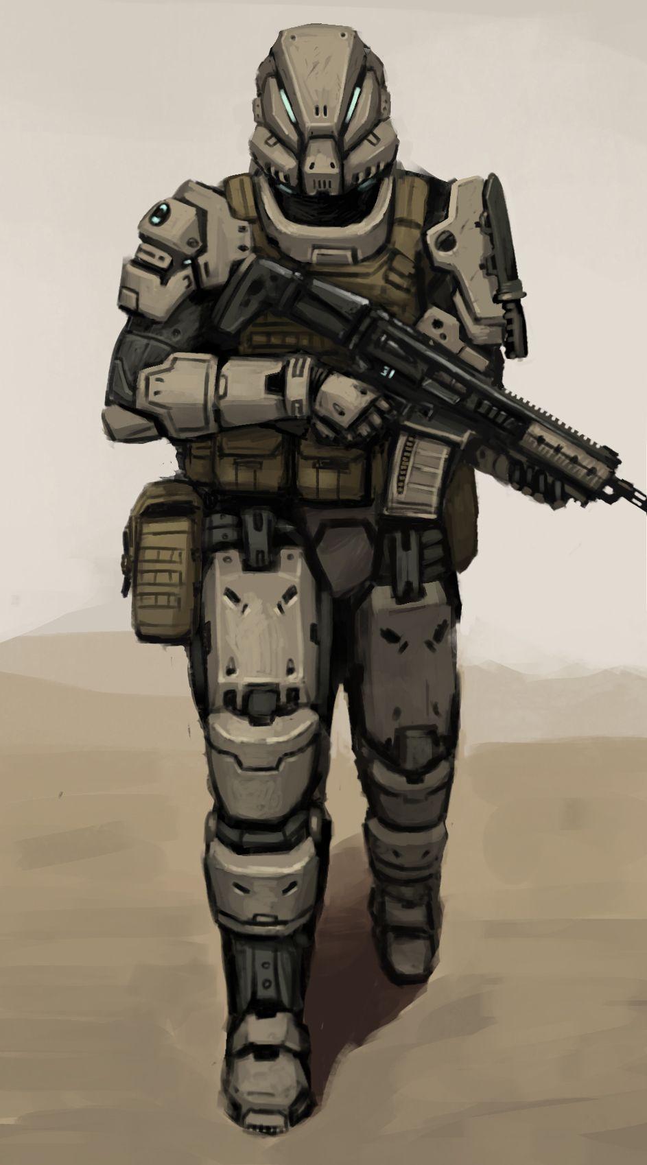 Spec Ops Commando Fonteart Deviantart Cyberpunk In