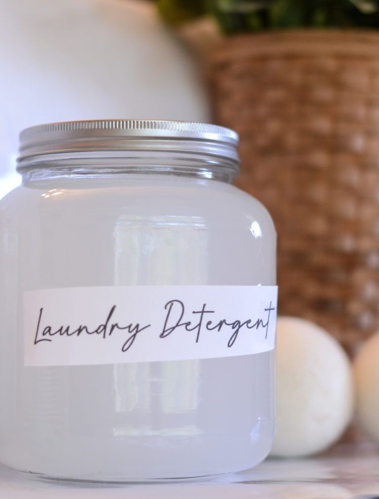 Homemade Natural Laundry Detergent Recipe Homemade Laundry