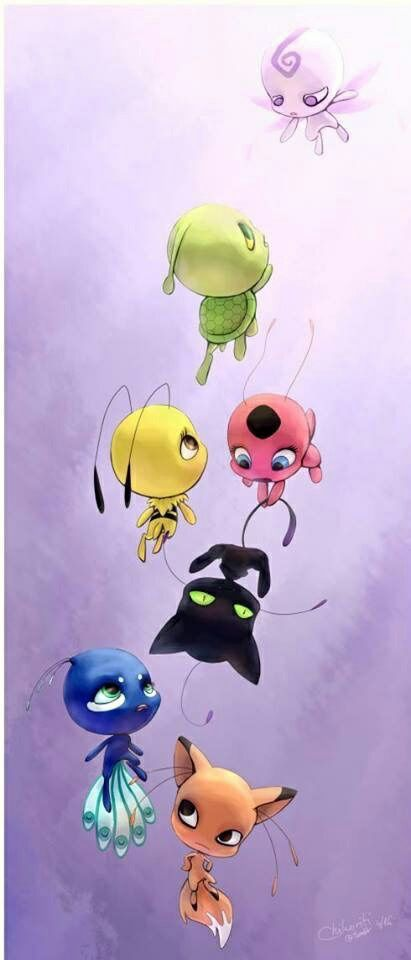 miraculous ladybug, tikki, and kwami image | pour loucoum ...