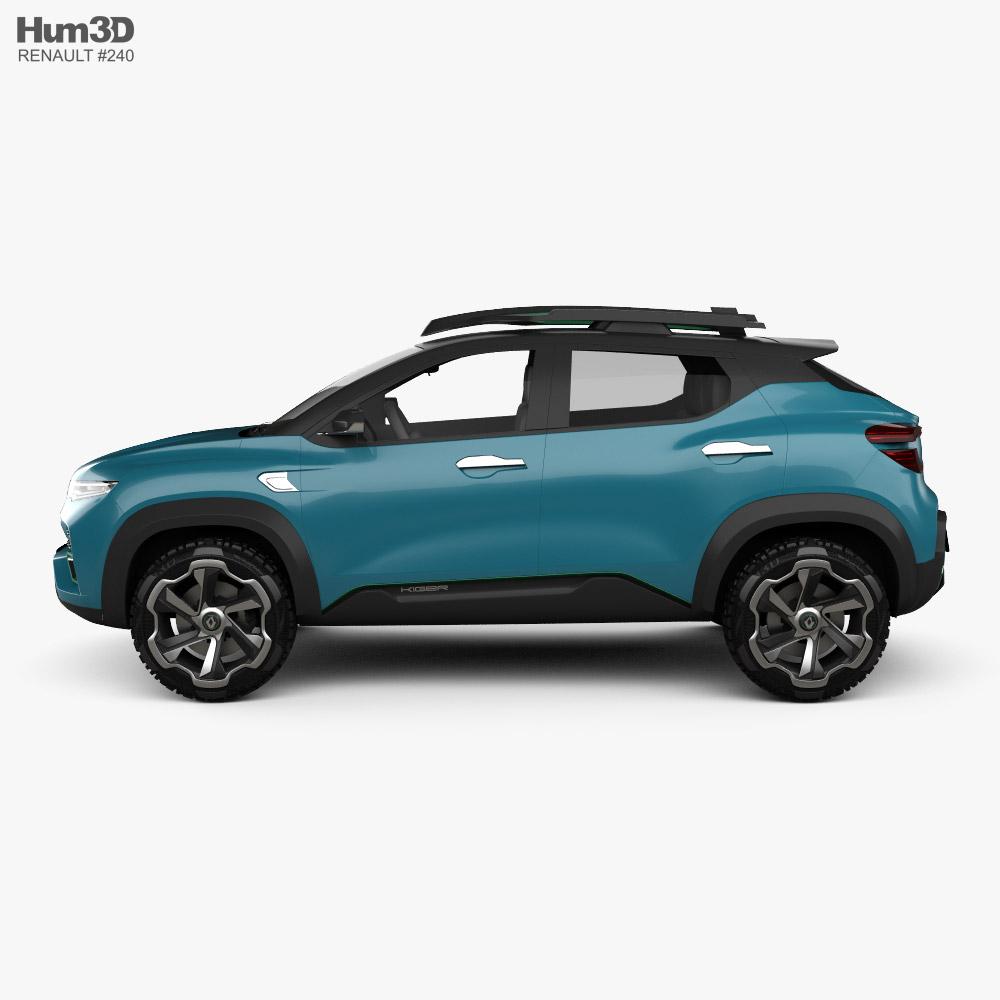 3d Model Of Renault Kiger 2020 In 2021 3d Model Renault Model