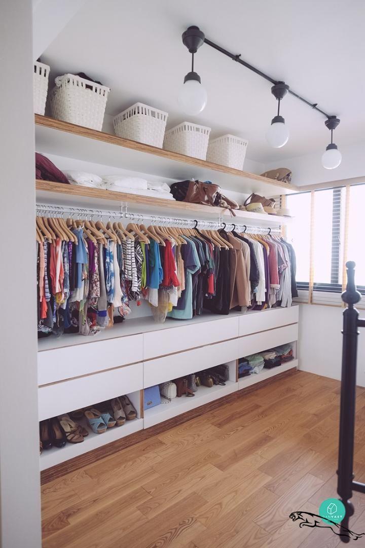 1001 Ideen Fur Offener Kleiderschrank Tolle Wohnideen Amenagementmaisonchambre Begehbarer Em 2020 Casa Em Estilo Escandinavo Quartos Pequenos Quarto Escandinavo