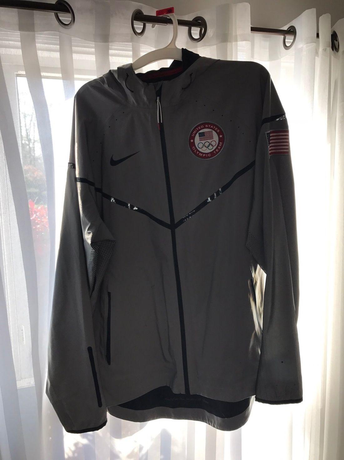 Nike London Olympic 3 M Reflective Team Usa Podium Jacket Size L 294 Nike London Jackets Nike [ 1467 x 1100 Pixel ]