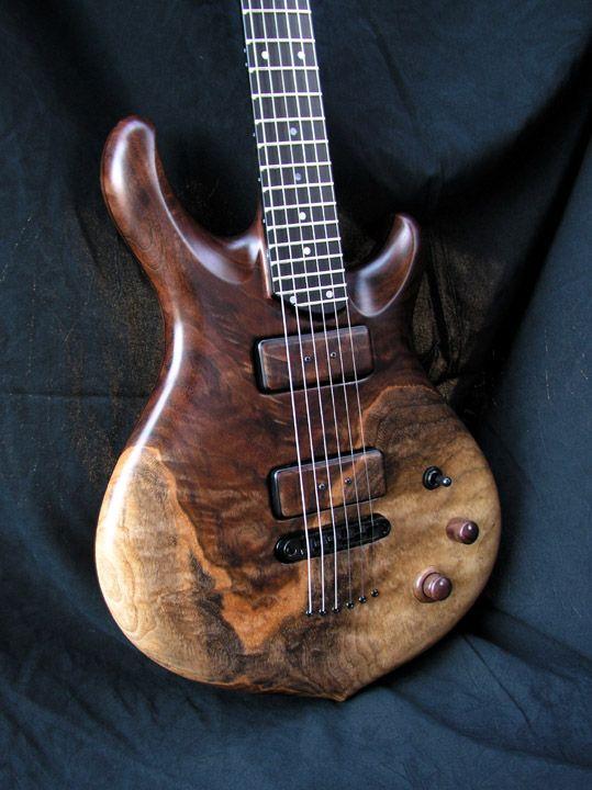 William Jeffrey Jones Guitars Argos Electric Guitar Design Custom Electric Guitars Luthier Guitar