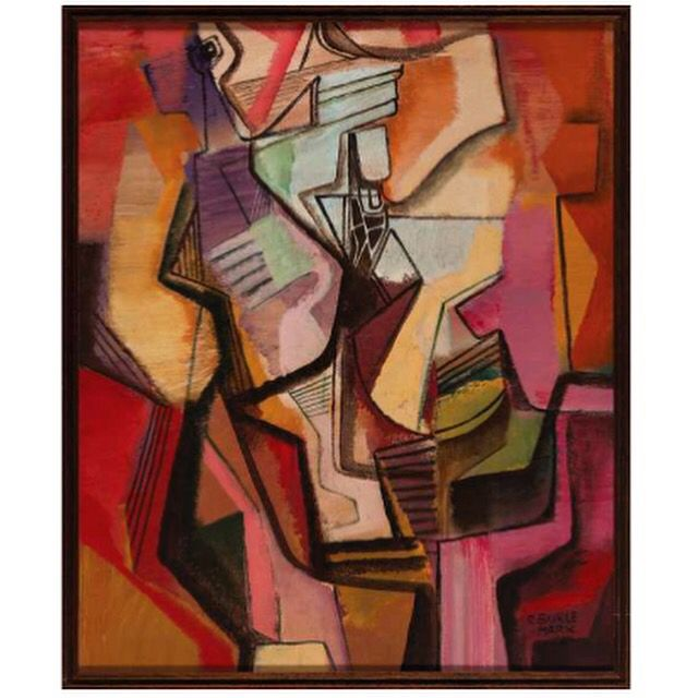 ROBERTO  BURLE MARX, Sem titulo - Óleo sobre tela - 98x81 cm - ACID  Roberto Burle Marx, Untitled - Oil on canvas - 98x81 cm - ACID  Victor Hugo  26 de julho às 20:00 hs www.iarremate.com   Victor Hugo July 26 at 20:00 pm www.iarremate.com  #brasilia #arquitetura #painting #paisagismo #burlemarx #victorhugo #galeria #higienopolis #iarremate #fineart #instaart #abstractart #decor #arte #leilao #bid #remates