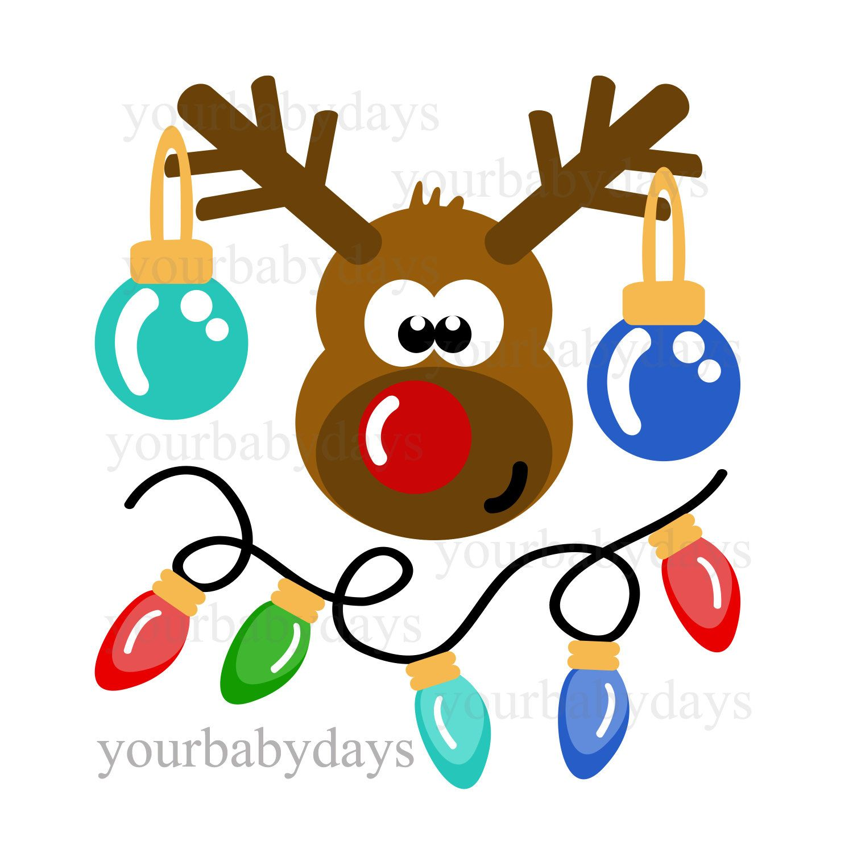 Reindeer svg files digital files circut cuttables
