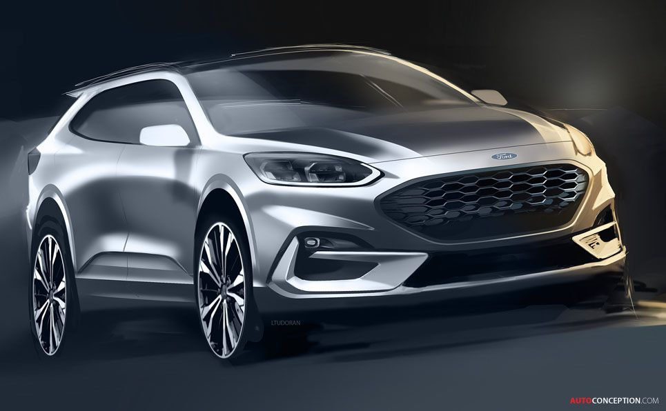 All New Ford Kuga Revealed Autoconception Com