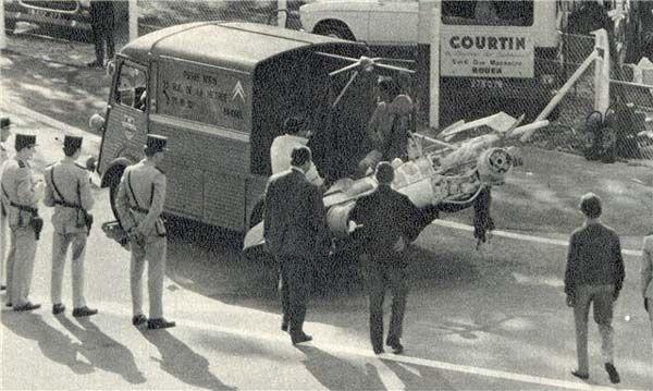 Remains Of Cevert S Car Arrives Back In France Formula I And