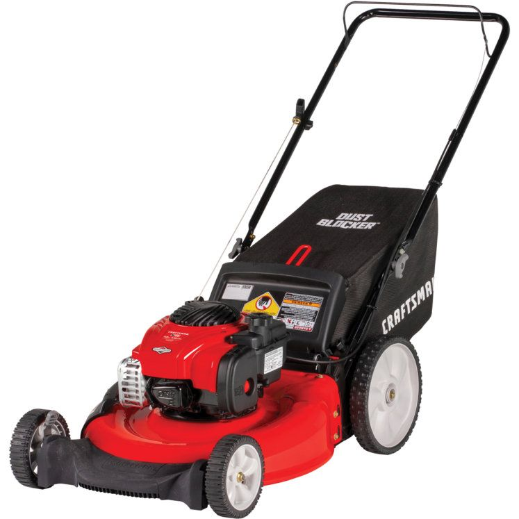 Craftsman 21 In 140cc 3 In 1 Push High Wheel Lawn Mower By Craftsman At Fleet Farm In 2020 Lawn Mower Best Lawn Mower Walk Behind Lawn Mower