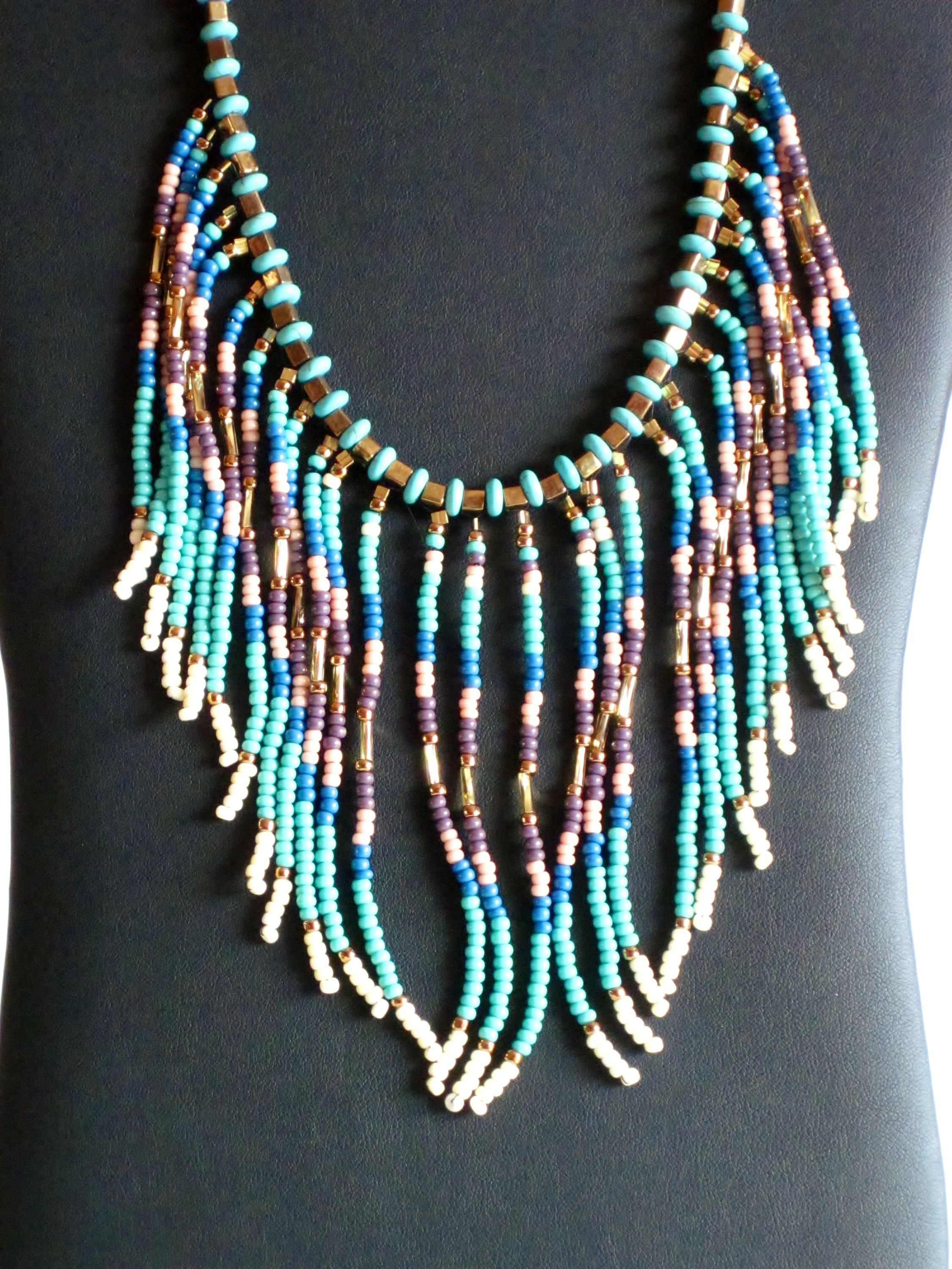 american artist kingman product gold neclace inlay navajo by tim native turquoise jewelry charlie jewellery necklace