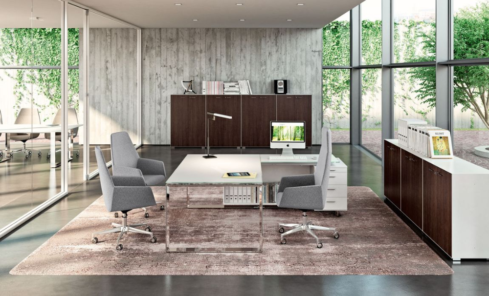 Modern Office Desks Executive Office Desks In 2020 Modern Office Design Office Interior Design Modern Executive Office Design