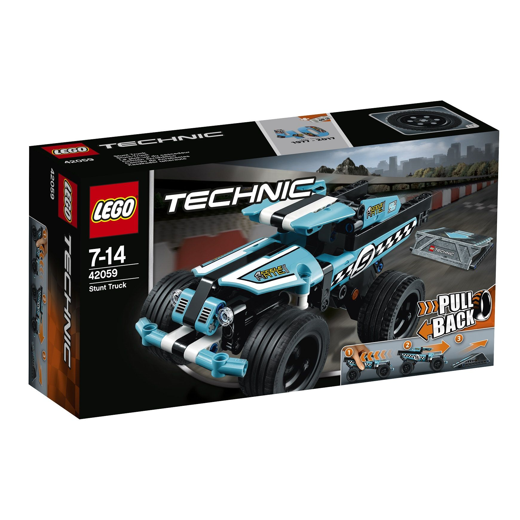 LEGO Technic Technik Sticker Aufkleber Stunt Truck 42059 Neu