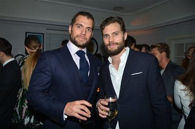 Jamie and Henry Cavill at W Magazine party!! Can you say to hot to handle?! everythingjamiedornan.com