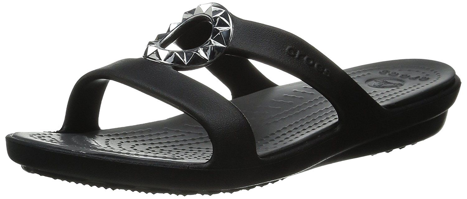 332673fc653d crocs Women s Sanrah Studded Circle Sandal     You can find more details by  visiting the image link.