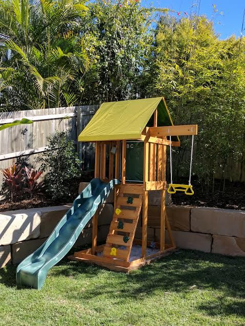Outdoor Climbing Frames For Small Gardens
