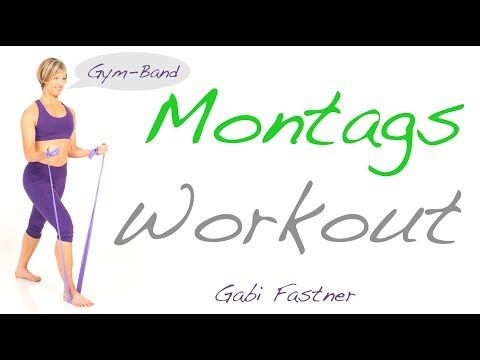 22 min. Figur-Training mit dem Theragym Band