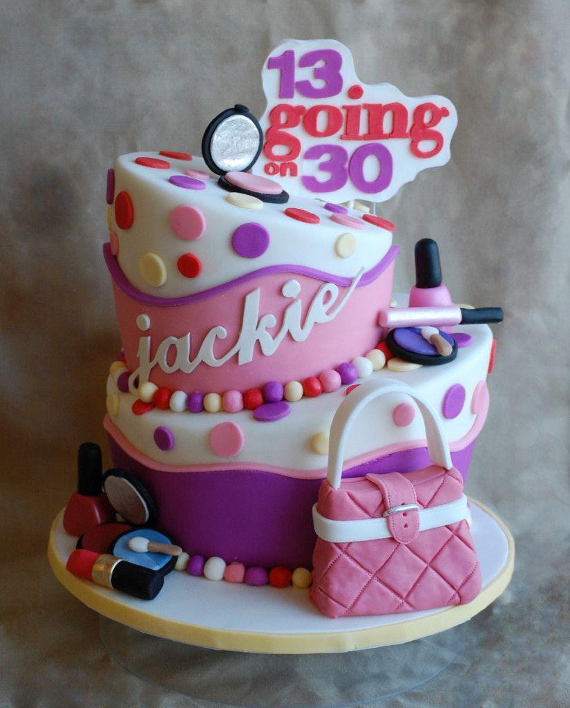 13 Going On 30 Birthday Cake!
